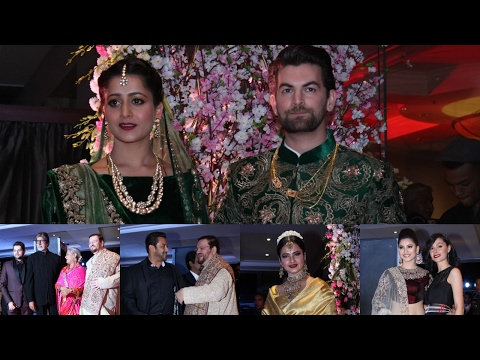 Neil Nitin Mukesh Host Grand Reception Party With Many Celeebraties