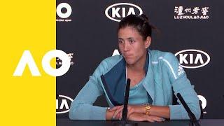 Garbiñe Muguruza press conference (4R) | Australian Open 2019