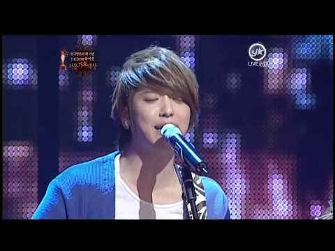 110120 SMA 第20屆首爾歌謠大賞 – CNBLUE – 孤獨的人(Ballad ver.) + Love(Ballad ver.)