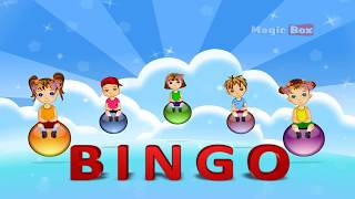 Bingo - English Nursery Rhymes - English Cartoon Nursery Rhymes