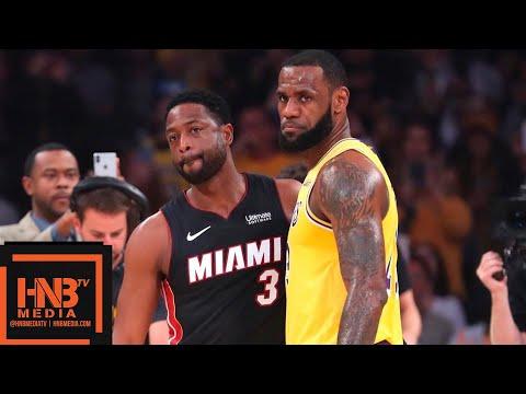 Los Angeles Lakers vs Miami Heat Full Game Highlights | 12.10.2018, NBA Season