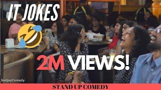 Video IT Industry Jokes   Stand up Comedy   Sanjay Manaktala MP3, 3GP, MP4, WEBM, AVI, FLV Juli 2018