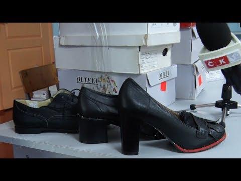 Житомирський підприємець подарував взуття мешканкам соціального гуртожитку