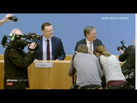 CDU: Armin Laschet & Jens Spahn zur Kandidatur um den  ...