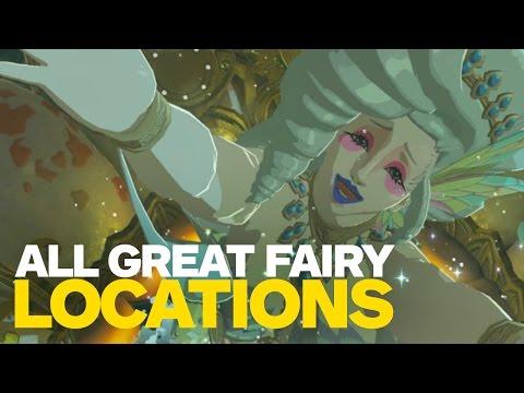 All Great Fairy Fountain Locations in Zelda: Breath of the Wild (видео)