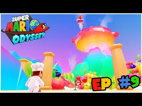 COOKING UP A STORM: Super Mario Odyssey #9