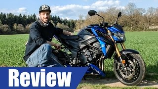 7. Suzuki Gsx-S 750 2017 ACTION REVIEW │ First Ride │ Cracking Mechanics