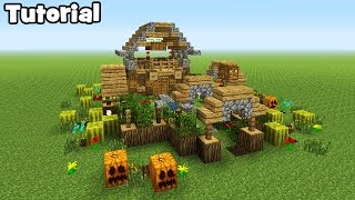 Minecraft Tutorial: How To Make A Garden House