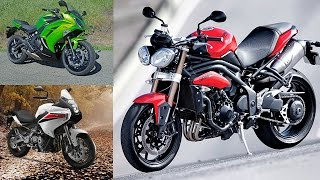 10. Specifications Comparison | Benelli BN600GT V/s Triumph Street Triple V/s Hyosung GT650R
