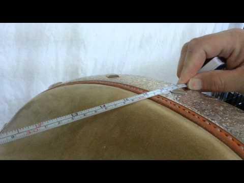 Bob's Custom Saddles: How to measure a saddle