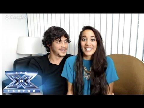 The X Factor Contestant Hangout Episode 4 - THE X FACTOR USA 2013