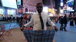 How To Tie The Lungi-Wilbur Sargunaraj In New York