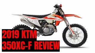10. KTM 350XC-F is updated for 2019 and a great bike for a wide array of riders and terrain.