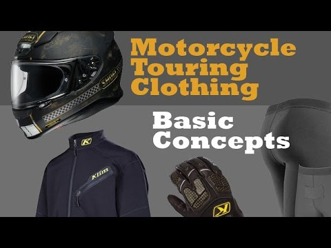 Motorcycle Touring Clothing: Basic Concepts, How Much Should You Carry?