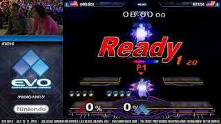 Since EVO 2017 is this weekend, let's appreciate one of the most entertaining pools set in Melee history: EVO 2016's Chris Best vs. Net1234