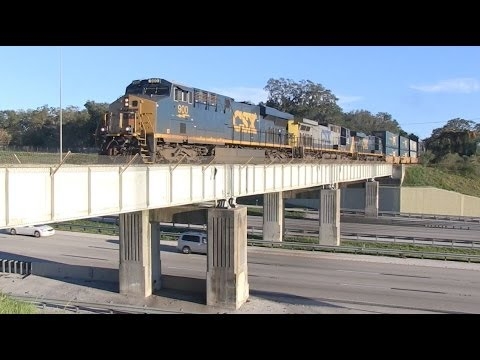 Railfanning the Circus Train, Auburndale & Lakeland Jan 2014