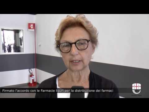 SIGLATO ACCORDO CON I FARMACISTI LIGURI PER LA DISTRIBUZIONE DEI FARMACI