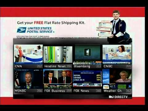 USPS Sponsors the News Mix Channel DIRECTV
