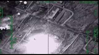 Уничтожение объекта на нефтеперерабатывающем заводе террористов в провинции Дейр-Эз-Зор