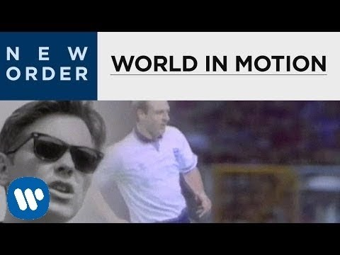 New Order - World In Motion (Official Music Video)