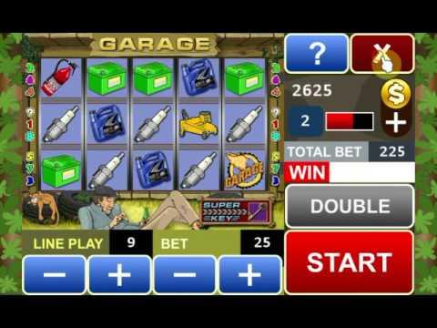Video of Garage slot machine