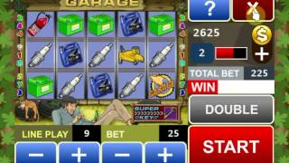 Garage slot machine YouTube video