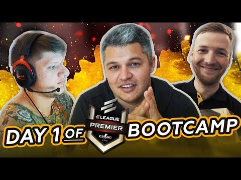 Day 1 of ELEAGUE bootcamp