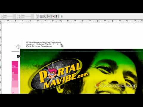 Finalizando e exportando arquivos no CorelDRAW