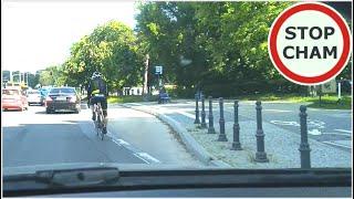 """""""Od czego jest droga rowerowa?"""" – """"Jadę więcej niż 30 na godzine"""""""