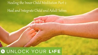 "This is part 2 of healing the inner child and completes the journey.  This also includes healing hypnotherapy to break any past cycle of trauma but without leading or planting ideas so this session is also designed to benefit anyone and everyone. Royalty free music ""Quietude"" by Christopher Lloyd Clark, licensed by Enlightened Audio: www.enlightenedaudio.comThink Yourself Slim playlist: http://bit.ly/2dFmAM5Deep Sleep playlist: http://bit.ly/2dDf1oUPositive Daily Affirmations: http://bit.ly/2evKyqMSetting Boundaries and Assertiveness: http://bit.ly/2dTttYKHealing Hypnosis: http://bit.ly/2dWzBE2Self-Esteem playlist: http://bit.ly/2dOt9NFMeditations on Challenging Emotions: http://bit.ly/2oy6ckNSpiritual Hypnosis playlist: http://bit.ly/2dOtMXoGet $5 off a minimum $25 purchase on all mp3s (excluding the Think Yourself Slim Program) by using code UYL5 at www.unlockyourlifetoday.comSubscribe to Think Yourself Slim's Youtube Channel:http://bit.ly/1NbGwlXConnect on Facebook and gain access to exclusive offers and the occasional mp3 gift: http://www.facebook.com/unlockyourlifetodayUnlock Your Life Mp3s on iTunes: https://itunes.apple.com/artist/unlock-your-life/id1034660915Think Yourself Slim MP3s on iTunes:https://itunes.apple.com/artist/think-yourself-slim/id1009734404-----------------------------------------------------You must be of adult age in your state, or country or gain caregiver or parental approval to listen. These recordings are intended for relaxation, self-improvement and entertainment purposes only.   Hypnosis is not a replacement for any counseling or psychotherapy.  These recordings do not diagnose, cure or prevent any mental or physical health condition or illness or prevent any illness or condition of the body or mind, they cannot tell you what will happen to you in the future.  If you think or know you have a health issue, talk to your doctor before listening to any part of this recording.  Never delay, change or stop any treatment, medication or regime without consulting with your doctor or health care professional first.  Never change your lifestyle, including but not limited to diet, exercise, sleep or anything else without consulting with your doctor first and following his or her advice. If you ever feel unwell at any time while listening to these recordings, you must seek immediate medical attention.  You should continue taking regular medical check-ups.If you know you have any kind of mental health issues, you should NOT buy or listen to any of our hypnosis recordings. If you wish the benefits of hypnotherapy, ask your counselor or therapist.By listening to this recording you confirm that you have checked any suspected or confirmed mental or physical health condition with a doctor and you accept full responsibility for all outcomes.  You understand that hypnosis is merely a process of suggestion and you can always accept or reject the suggestions you receive.  You are always in control.   All hypnosis is self-hypnosis.  Therefore we cannot guarantee, (a) that you will get any results at all or; (b), that any results you do get will be permanent.Please only ever listen to any of these recordings when you are in a quiet space, ideally at home or in a quiet room.  Never listen to any of these recordings while driving or operating machinery or when required to remain alert to your environment as you may become very relaxed and may even fall asleep.All recordings are best listened to on headphones.All scripts are unique and protected by copyright law by © Sarah Dresser 2015 / 2016 /2017 and may not be transcribed, re-used or re-recorded in part or whole whether for public or private practice use.  All recordings are also copyright protected and are not permitted for public broadcasting, or any form of paid or unpaid distribution other than for private, individual use.  These recordings may be removed or deleted at any time with no notice."