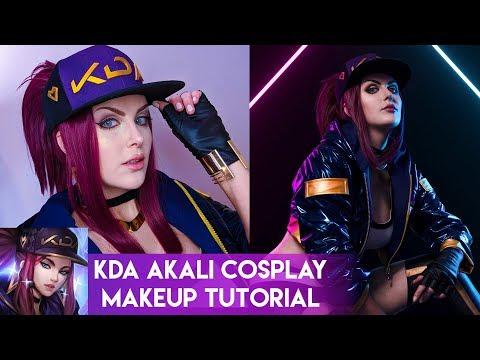 K/Da Akali - Cosplay Makeup Tutorial