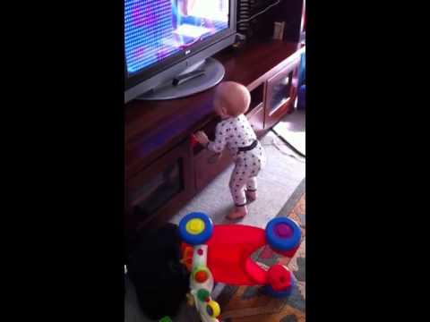 Baby Boy Dancing Hi5