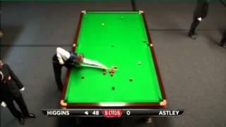 John Higgins - John Astley (Frame 11 - Decider) Snooker International Championship Q 2013 - Round 1