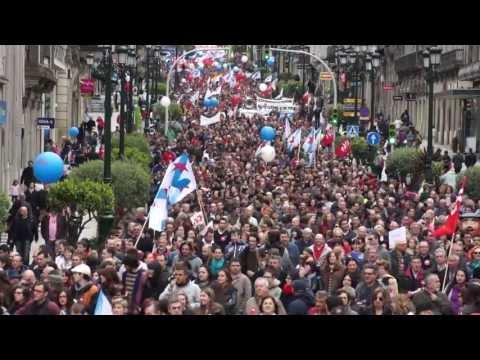 Primeiro de maio en Vigo - Día do Internacionalismo Proletario 2013 - CIG