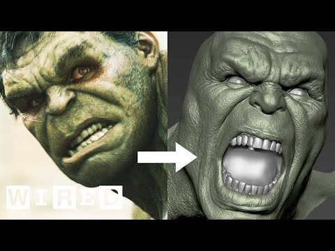 The Design FX Behind The Hulk in The Avengers