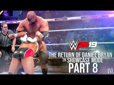 WWE 2K19 2K Showcase Mode Part 8 - Daniel Bryan vs Triple H WrestleMania 30 Match | 2K Showcase Mode