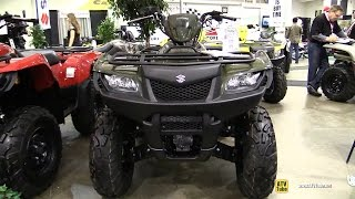 5. 2014 Suzuki King Quad 500 LTA 500 XPL4 - Walkaround - 2014 Toronto ATV Show