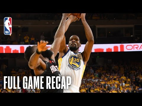 ROCKETS vs WARRIORS | Kevin Durant Continues Strong Play in First Match-Up Against Houston | Game 1