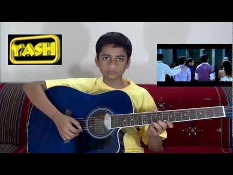 Thuli Thuli Guitar Instrumental With TABS - Paiyaa