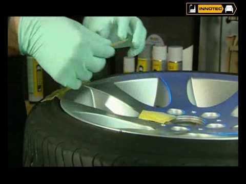 Alufelgen-Reparatur   Innotec Alu Scratch Repair System