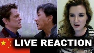 Skiptrace Trailer Reaction - Jackie Chan 2016