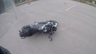 7. Crashing a bike in under a minute – Episode 1 (Honda CB500F)