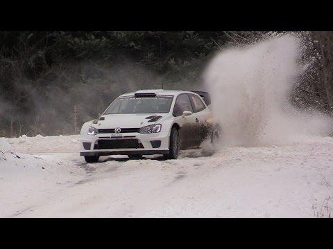 Test Rallye Monte Carlo 2015 Jari-Matti Latvala VW Polo WRC
