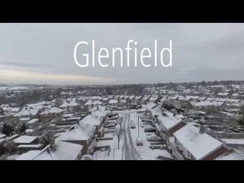 Glenfield in the Snow | DJI Phantom 4 (HD) (видео)