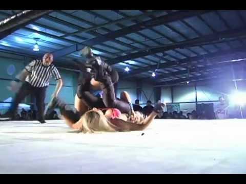 Cali Logan vs The Puma   Cali Logan Beautiful In Defeat