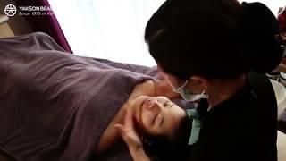 Khách hàng trải nghiệm liệu trình Cân đối khuôn mặt