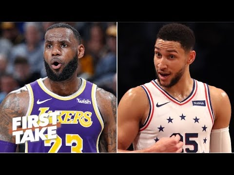 Would trading LeBron to the 76ers for Ben Simmon attract Kawhi to the Lakers? | First Take