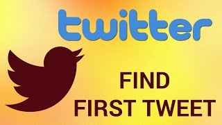 """Twitter is an online social networking and microblogging service that enables users to send and read short 140-character text messages, called """"tweets"""". There's a free application that lets you find someone's first tweet. Don't forget to check out our site http://howtech.tv/ for more free how-to videos!http://youtube.com/ithowtovids - our feedhttp://www.facebook.com/howtechtv - join us on facebookhttps://plus.google.com/103440382717658277879 - our group in Google+Step # 1 - Open your browserFirst, open your browser and go to: """"discover.twitter.com/first-tweet""""Step # 2 - Search for someone's first twitterYou'll find a search bar in the website. Just enter the @username and press """"Enter"""".Result: Congratulations!  You've just learned How to Find Anyone's First Tweet."""