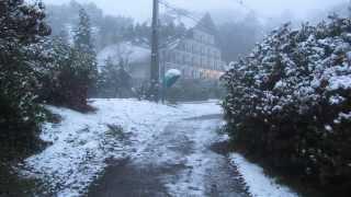 Foi a maior precipitação de neve desde de 1999 em Gramado-RS.