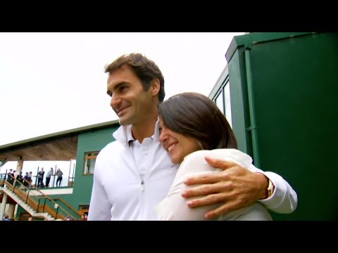 Video: Roger Federer fulfills a cancer survivor's lifelong dream to meet him